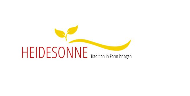 Heidesonne Tradition in Form bringen